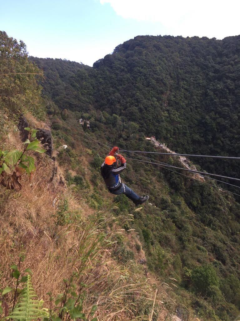 sohra ziplining